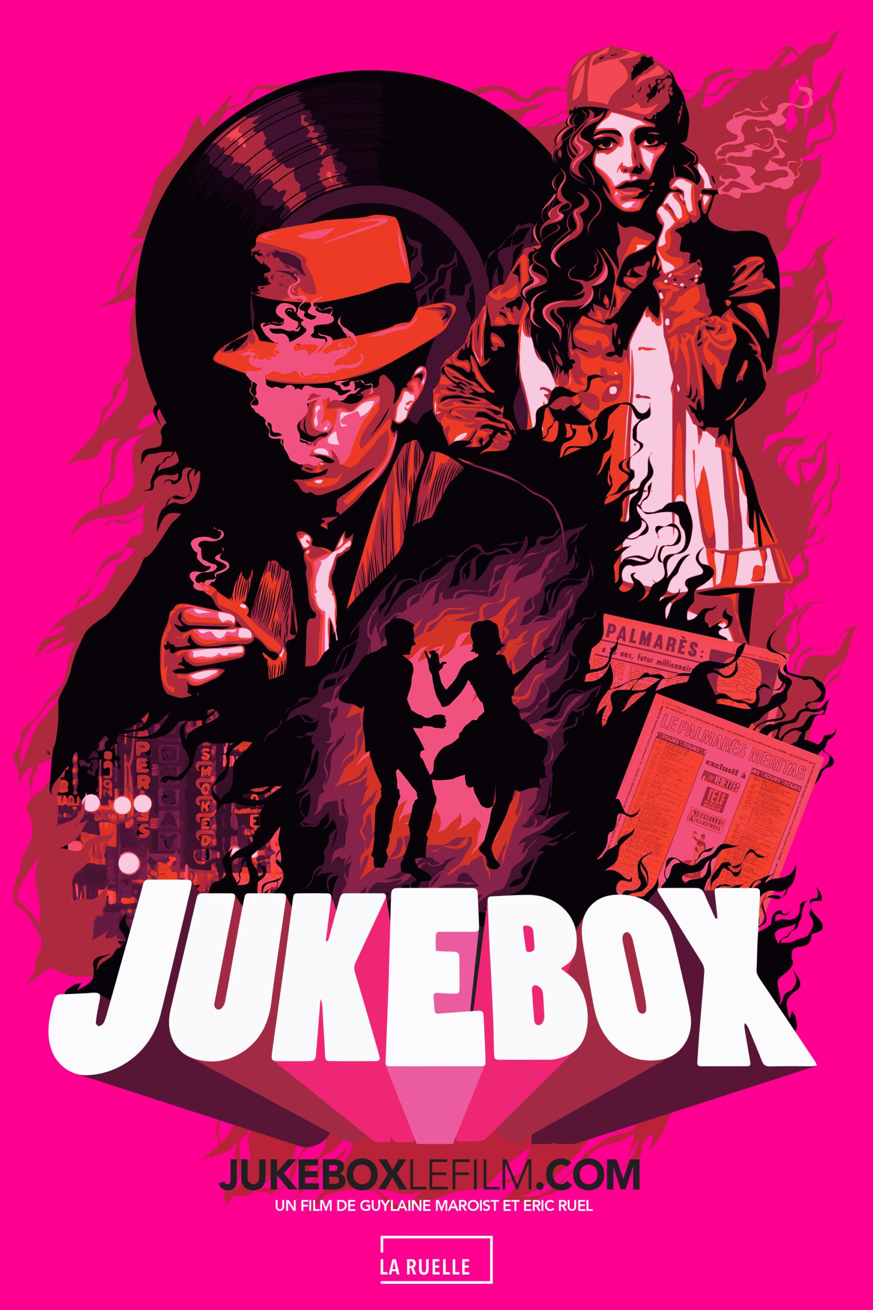 Jukebox un rêve américain fait au Québec, Guylaine Maroist et Éric Ruel