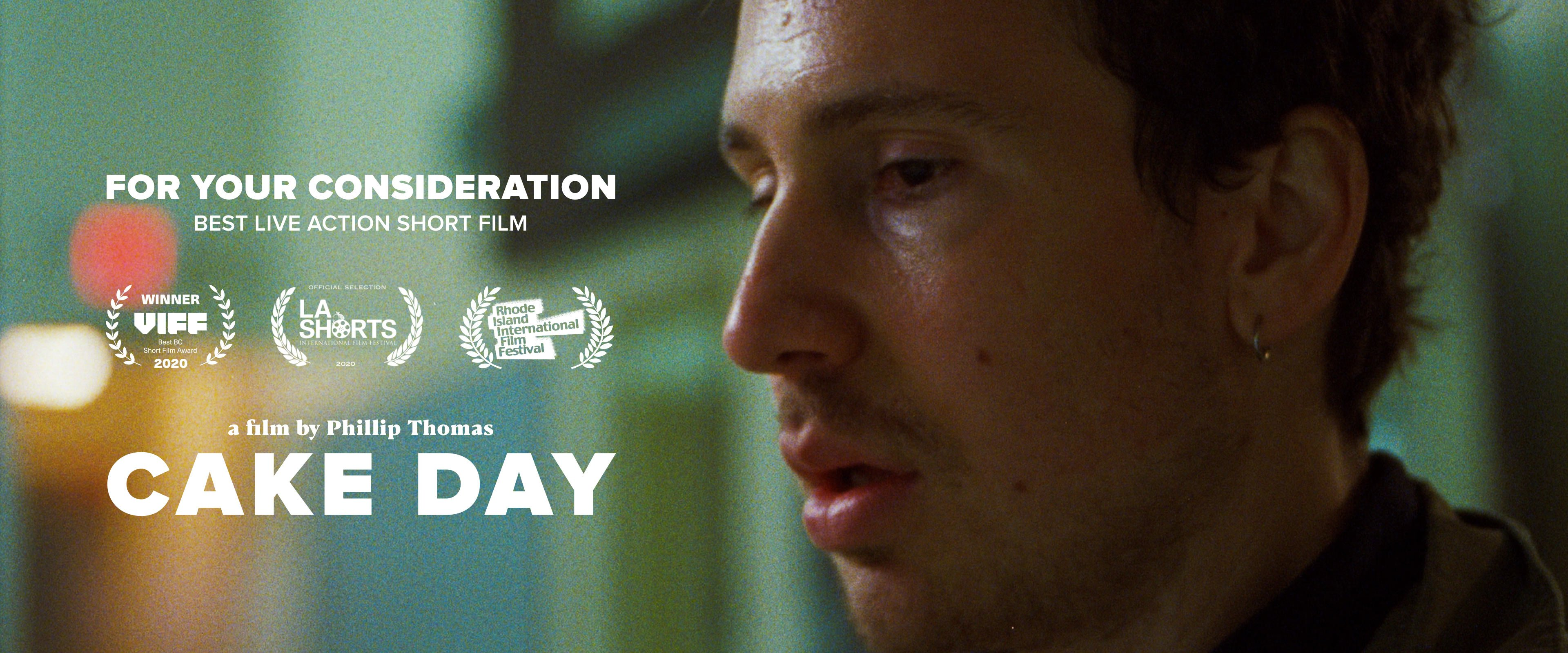 Cake Day - A film by Phillip Thomas - Header