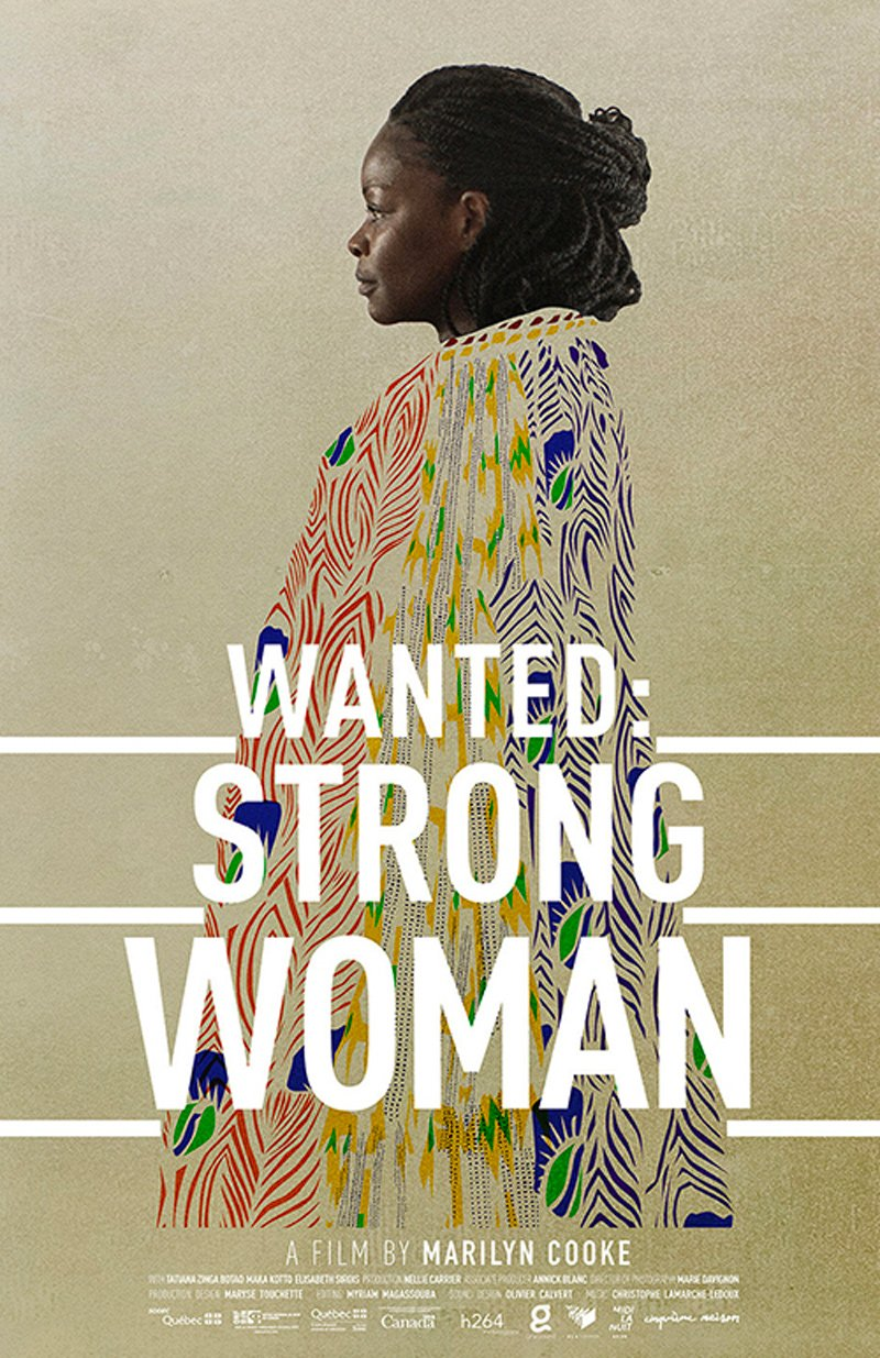 Wanted Strong Woman - A film by Marily Cooke - Poster