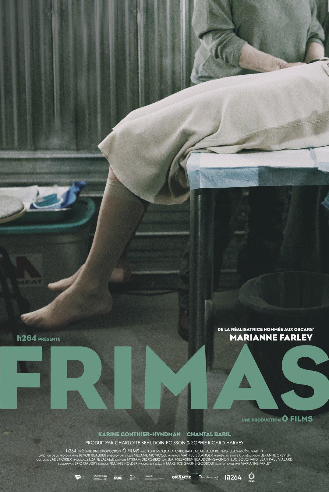 Frimas - Un film de Marianne Farley - Affiche